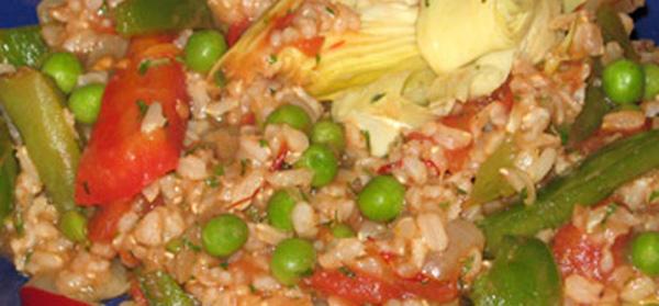 Veganska Paella