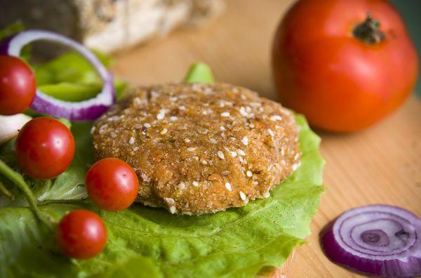 Fižolov burger