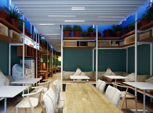 Energetsko varčna restavracija v Barceloni