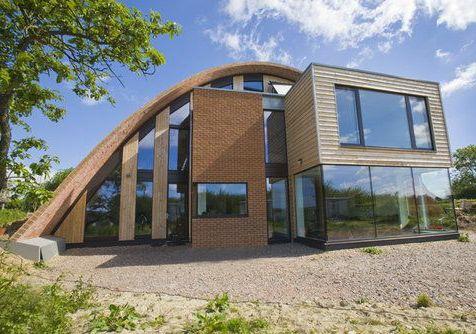 Pasivna hiša z ničelno emisijo izpustov ogljika