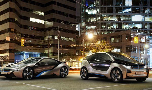 BMW predstavil prihodnost: i3 in i8