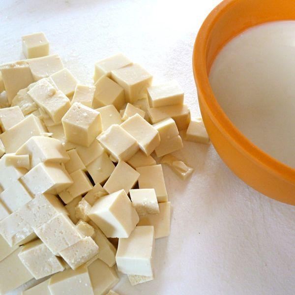 Sojino mleko in tofu