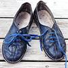 Sijoči čevlji brez dragih preparatov