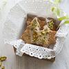 Piškoti z ingverjem in pistacijo