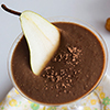 Hruškov čokoladni smoothie