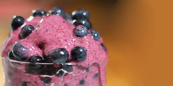 Borovničev presni sladoled