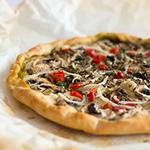 100% veganska pizza z jogutrovim testom