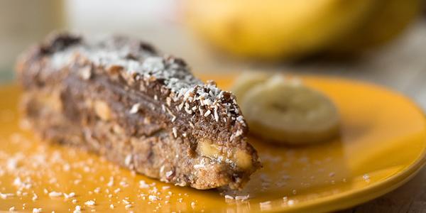 Presna čokoladno bananina tortica